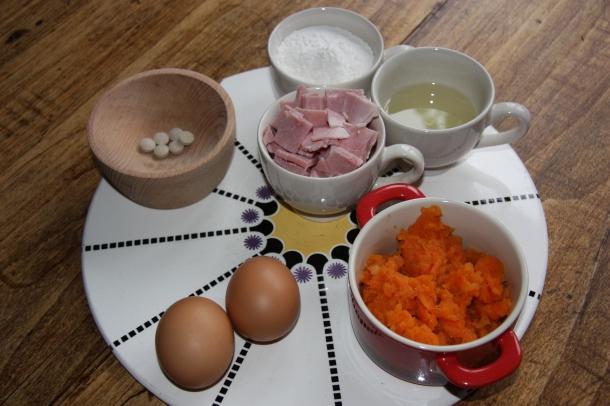 ingrédients pour recette friandises chiens et chats